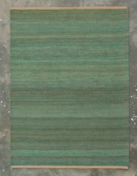 Green Jute Durry