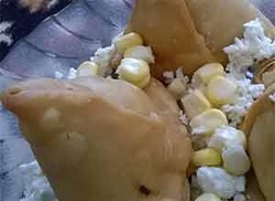 Paneer Corn Samosa