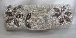 Female Beaded Crystal Clutch Bags