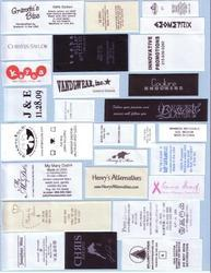 Taffeta Printed Label