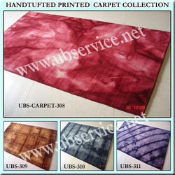 Printed Hand Loom Carpet