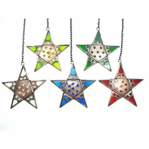 Hanging Star Decor Christmas