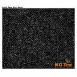 Super Black Denim Fabric