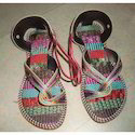 Party Wear Embroidered Handmade Leather Sandals