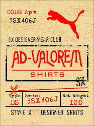 Ladies Apparel Labels