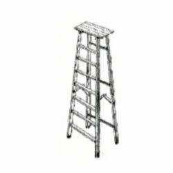 Aluminum Folding Factory Ladder (Heavy Duty)