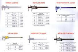 Vernier Calipers For Textile