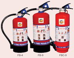 Carbon Steel BC Powder Fire Extinguisher, Capacity: 5Kg