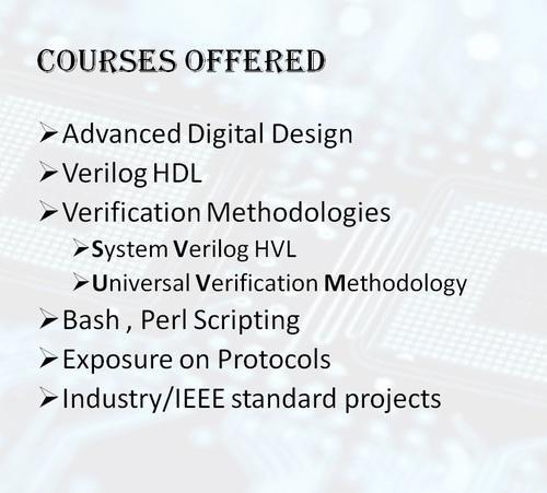 Advanced VLSI Design & Verification & Verilog And Digital