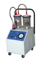 Electrical Suction Machine with Polycarbonate Jar