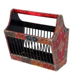 Antique Colourfull Rangoli Design Basket