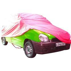 KSPI Red HDPE Car Cover