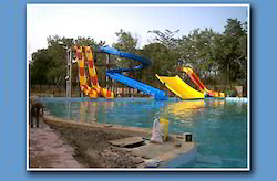 Water Park Long Slide