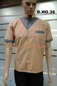 Light Peach Colour Restaurant Uniform
