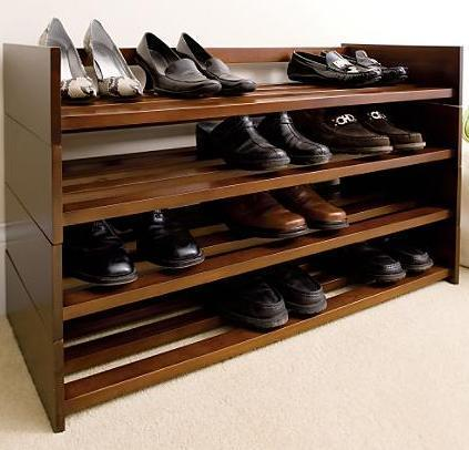 Wooden Shoe Racks