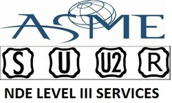 ASNT Level III Services for Audits - ASME U Stamp