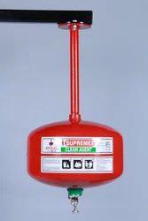Supremex Mild Steel Clean Agent Automatic Modular Fire Extinguisher, Capacity: 4Kg