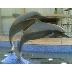 FRP Dolphin Statue