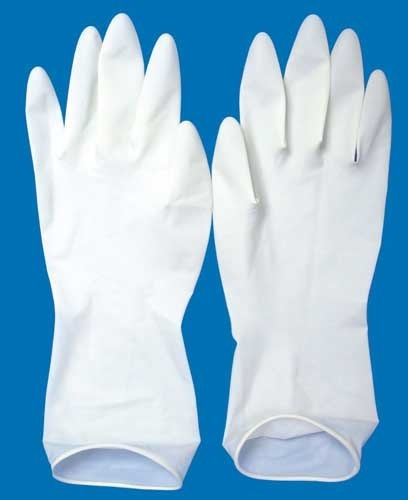 Non latex surgical gloves