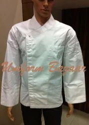 Commi Chef Coat White Piping