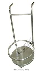 SS Drum Trolley