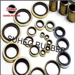 Rubber to Metal Bonded Seals