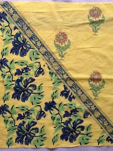 Jaipur Hand Block Print Fabric, Apparel Fabrics & Dress