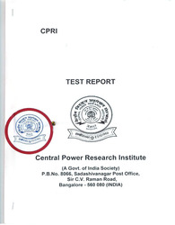 Central Power Reseach Institute Certificate