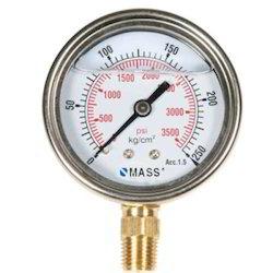 Mass Pressure Gauge -10.6kg.
