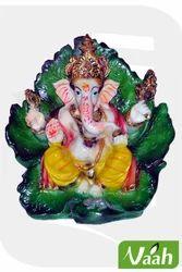 Vaah Resin Patta Ganesh Statue