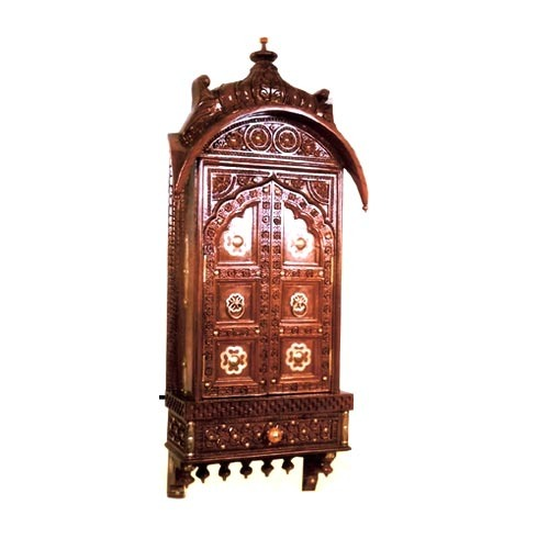 Antique Wooden Carved Almirah