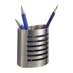 Stainless Steel Pen Holder