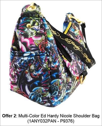 374b2fdbcc70 Multi-Color Ed Hardy Nicole Shoulder Bag at Rs 2400  piece