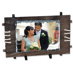 Sublimation Wedding Couple Photo Rocks