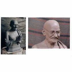 Mahatma Gandhi Human Statue