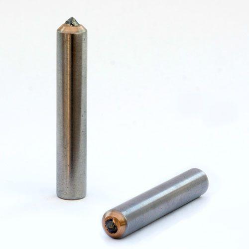 "2.00 CT Single Point Diamond Dresser Grinding Wheel Dresser 1//2/"" x 6/"" Length"