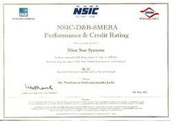 D & B Certificate