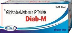 Glimipride 1mg  Metformin 500 mg  IP Tablets