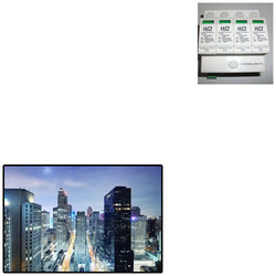 Lightning Surge Protection Device For Buildings