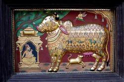 Komatha-Kamadhenu Painting