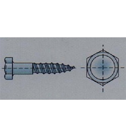 Hexagon Head Wood Screws