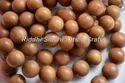 Natural Dark Golden Brown Tasbih Beads, Size: 4mm To 22mm
