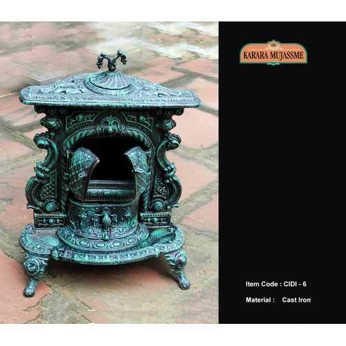 Manufacturer of Cast Iron Decorative Items - Antique Victorian Cast Iron Decorative Item