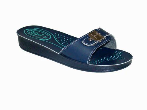 Details about  /Flip Flop Blue Casual Wear Girls Ladies Footwear Women Indian Design