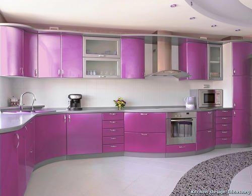 Wonderful Light Purple Kitchen Cabinets