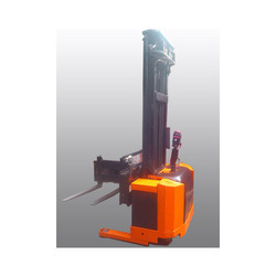 Side Way Reach Electric Stacker