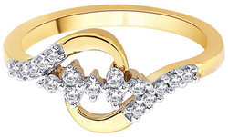 14K Queen Gold Diamond Ring
