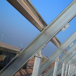 Pre Galvanized Fixed Type Mounting Structures, Thickness: 1.5 Mm To 4.0 Mm