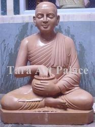 Sandstone Garden Buddha Statue