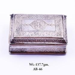 Silver Jewelry Box Manufacturers Suppliers of Silver Jewellery Box